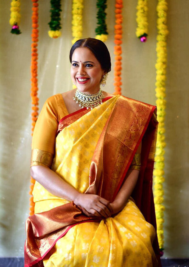 Sameera Reddy Has A Traditional Baby Shower And The Photos Are Indeed Heart-warming!