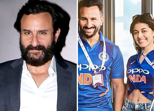 Pakistani fan MISBEHAVES with Saif Ali Khan at ICC Cricket World Cup which he attended along with co-star Aalia F (Watch Video)