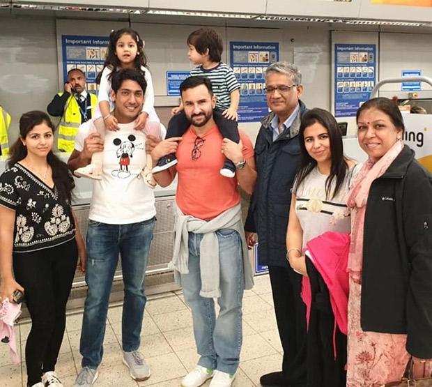 Fans go gaga as they share photos with Kareena Kapoor Khan, Saif Ali Khan and Taimur Ali Khan