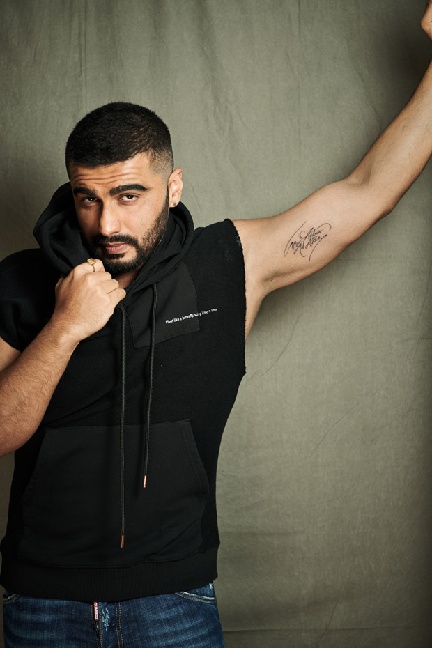 Arjun Kapoor Gets Inked Again And It S Super Personal Bollywood News Bollywood Hungama