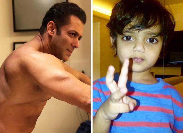 Cuteness Overload: Salman Khan Recreates The 'bean-bag Moment' With Nephews Ahil And Yohan