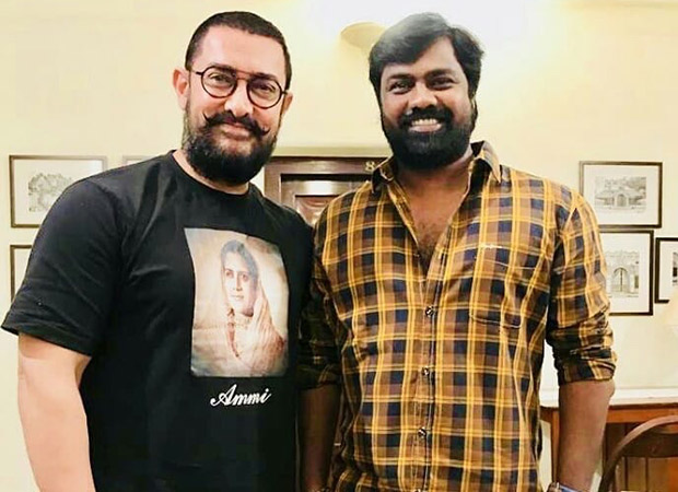 This Photo Of Aamir Khan Meeting Director Vijay Chandra In Karaikudi Fuels Up Rumours About The Actor Doing A Role In Sanga Tamizhan!