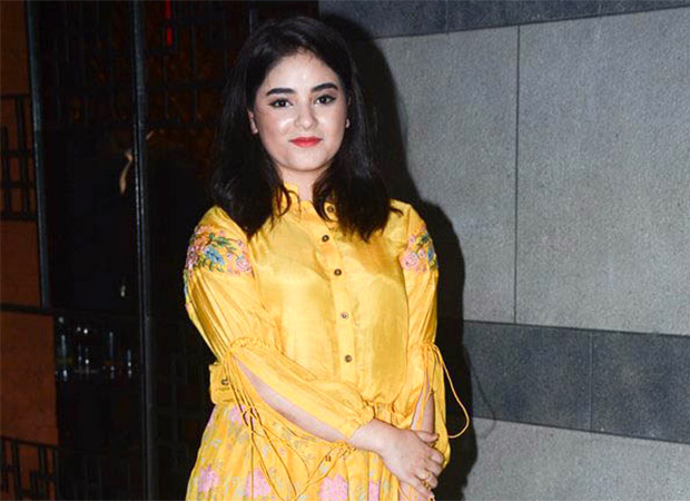 Dangal actress Zaira Wasim quits acting at the age of 18, says it interfered with her faith and religion