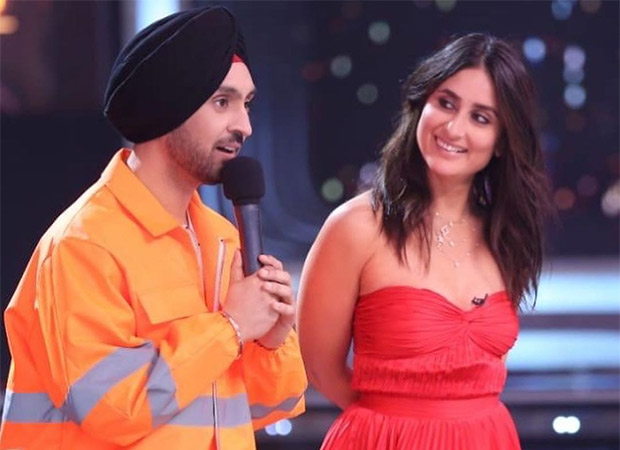 Diljit Dosanjh can't help but fan-boy over Kareena Kapoor Khan on the sets of Dance India Dance