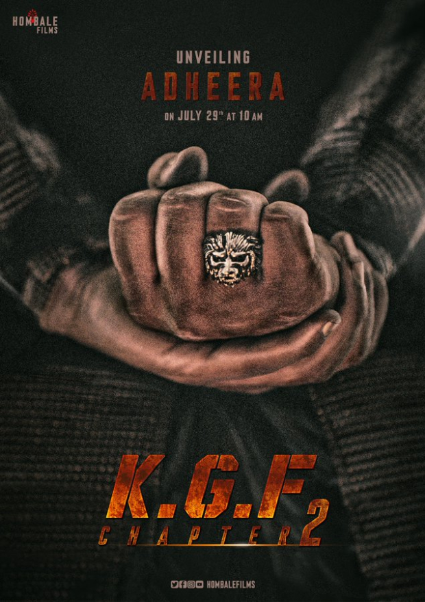 FIRST LOOK: Yash starrer KGF: Chapter 2 unveils a new character named Adheera