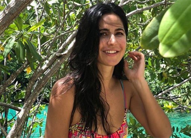 Hot: Katrina Kaif Looks Like A Tropical Diva In A Multicoloured Hipster Bikini (see Pic)