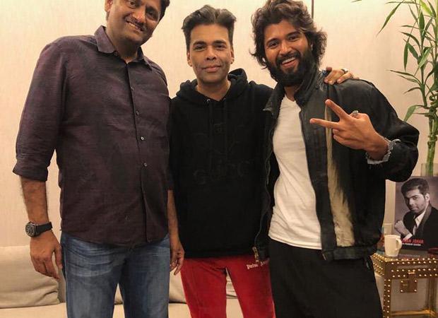 Karan Johar to launch Vijay Deverakonda in Bollywood