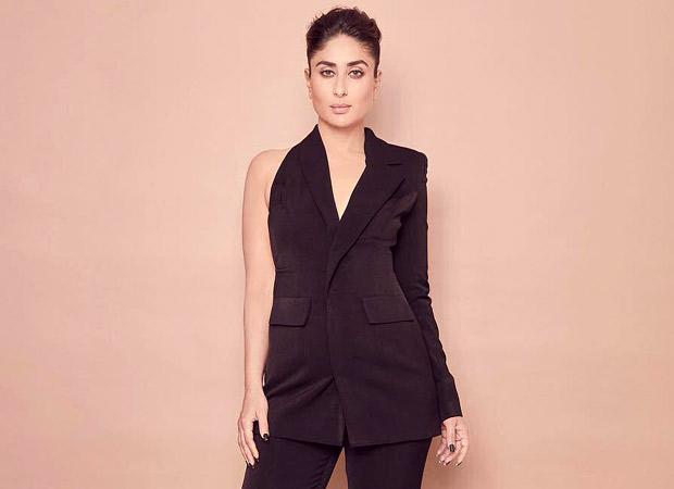 Kareena Kapoor Khan looks aesthetically stunning in an all-black Nikhil Thampi pantsuit!