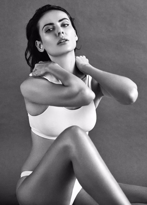 Hot! Mandana Karimi Scintillates In Her Latest Black And White Photoshoot