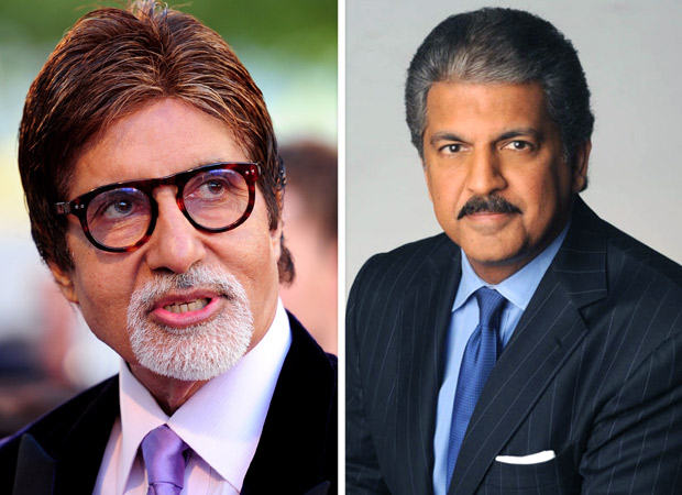 Amitabh Bachchan has an interesting Twitter banter with business tycoon Anand Mahindra over the 'Big B' epithet!