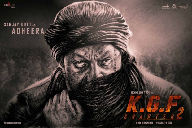 On his 60th birthday, KGF: Chapter 2 makers unveil fierce first look of Sanjay Dutt as Adheera