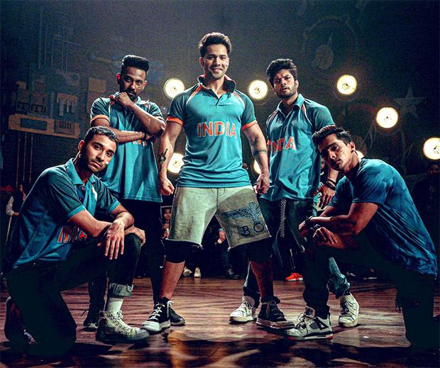 Photo Alert: Varun Dhawan And Team Street Dancer 3d Don Indian Jerseys To Support Team India During Icc World Cup 2019