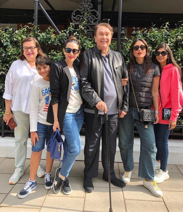 Photo: It's Family Time For Kareena Kapoor Khan And Karisma Kapoor In London