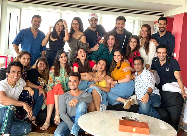 Pictures: Hrithik Roshan, Bhumi Pednekar, Kriti Sanon And Others Have A Gala Time At Lunch Hosted By Farah Khan
