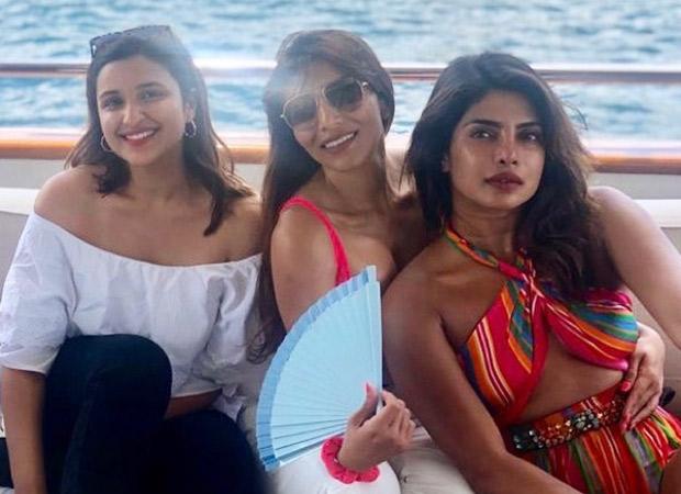 Priyanka Chopra Jonas and Parineeti Chopra's latest picture from their yacht celebration is all sorts of pretty!