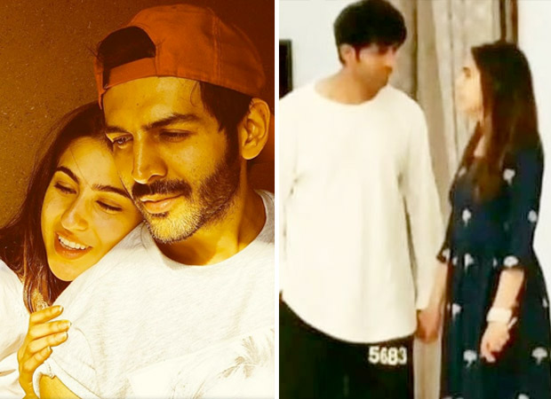 Rumoured couple Sara Ali Khan and Kartik Aaryan holding hands in Lucknow adds fuel to the fire