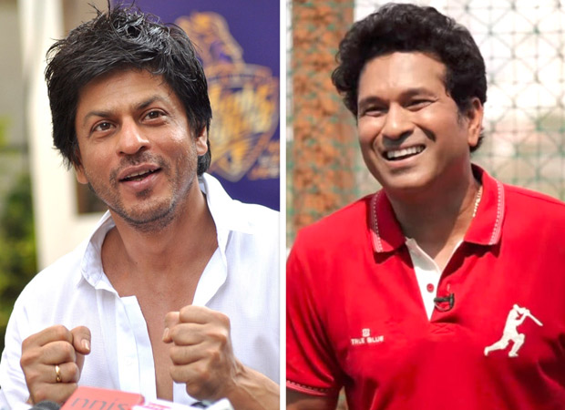 'Baadshah of Bollywood' Shah Rukh Khan and King of Cricket, Sachin Tendulkar have a fun Twitter banter and fans are going CRAZY over it!