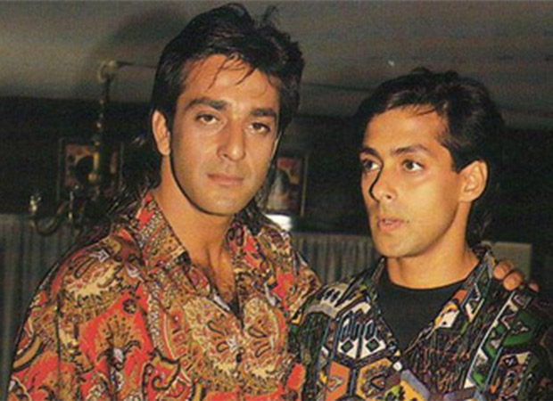 Salman Khan shares a throwback image on Sanjay Dutt's birthday and it is sheer nostalgia!