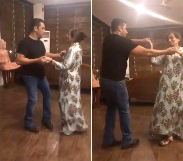 VIDEO Salman Khan dancing with his mom Salma Khan is all things love