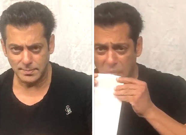 VIDEO: Salman Khan teaches the 'old fashioned way' of posting and it will make you giggle