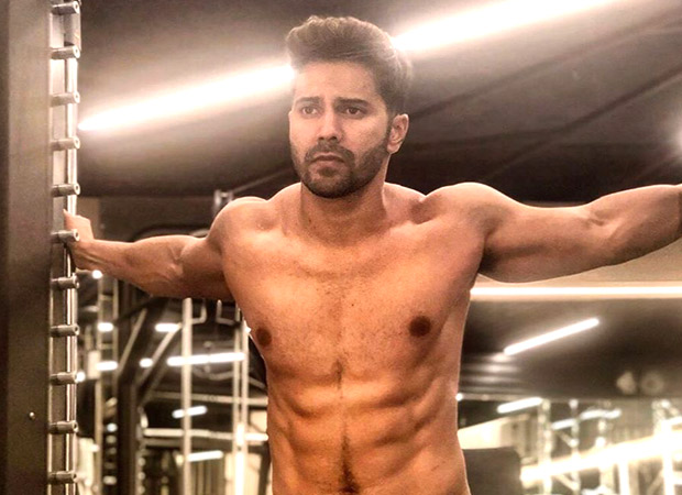 Varun Dhawan Is All Set To Announce Something Exciting With A Shirtless Picture!