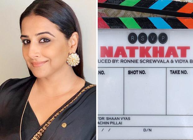 Vidya Balan partners with Ronnie Screwvala to produce Natkhat