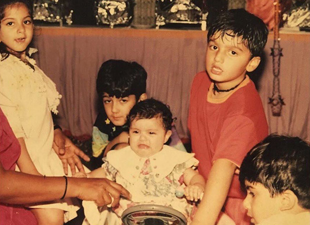 Way Back Wednesday: Anshula Kapoor Posts An Adorable Childhood Picture And Wants To Be Chauffeured Around By Arjun Kapoor!