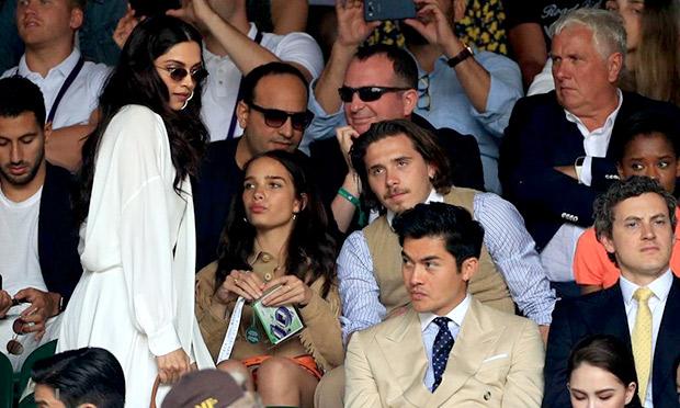 Wimbledon Finals 2019: Deepika Padukone shares a frame with Kendall Jenner, Henry Golding, Brooklyn Beckham, Choi Siwon