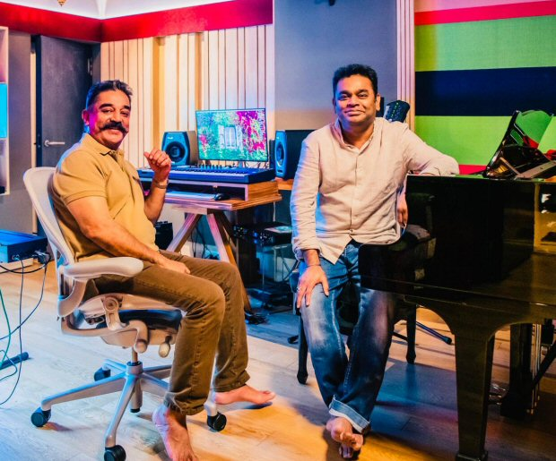 Woah! Kamal Haasan and A R Rahman reunite after two decades and it is for this film