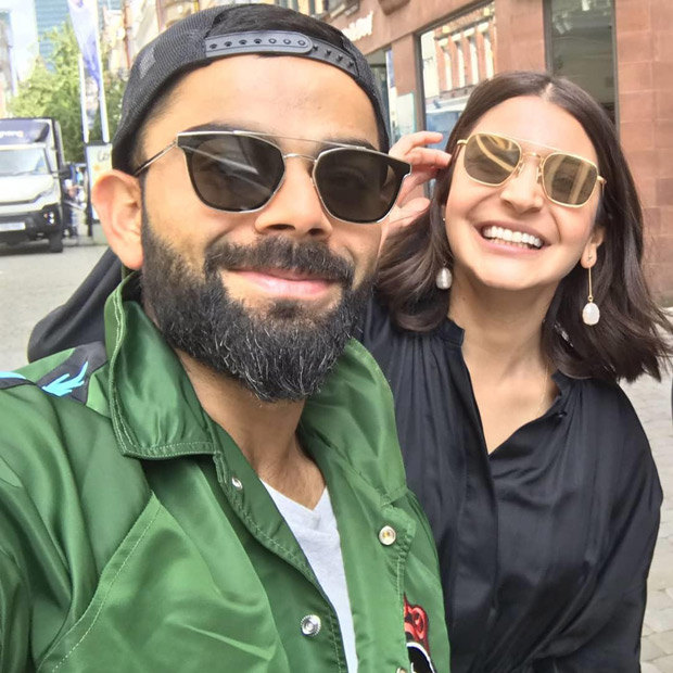 Anushka Sharma, Virat Kohli Pose With Virushka Fans In Manchester! [see Photos]