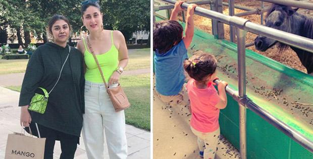 London Diaries: Kareena Kapoor Khan, Taimur Ali Khan, Inaaya Naumi Kemmu enjoy their vacation and the photos are too cute to be missed!