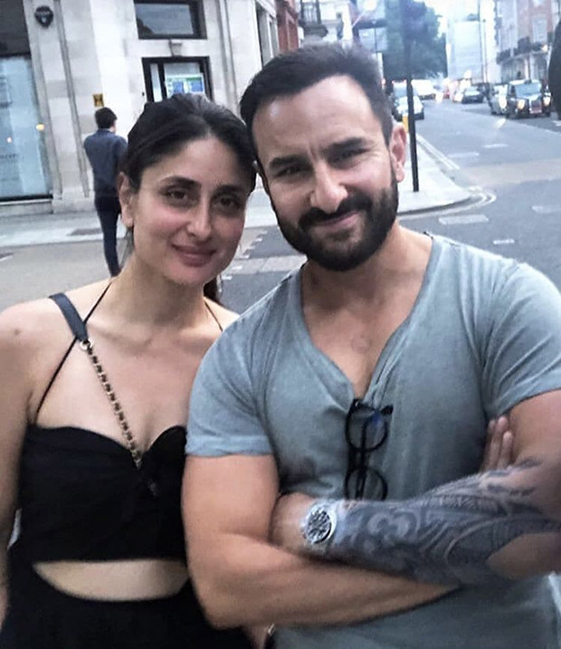 This Photo Of Saif Ali Khan Sporting A Huge Tattoo As He Poses With Kareena Kapoor Khan Is Taking The Internet By Surprise!