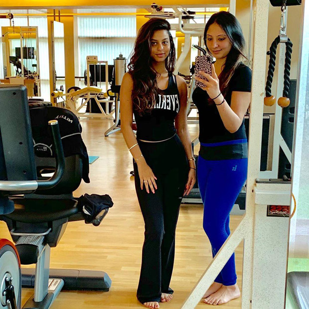Suhana Khan takes belly dancing lessons and her instructor Sanjana Muthreja is all praises for her! [See Photo]