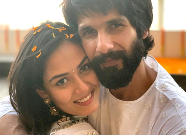 Shahid Kapoor And Mira Rajput Have A Romantic And 'rosy' Wedding Anniversary Celebration!