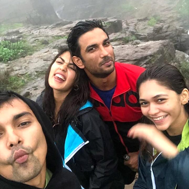 Rhea Chakraborty spends time with Sushant Singh Rajput; fuels rumours about their relationship!