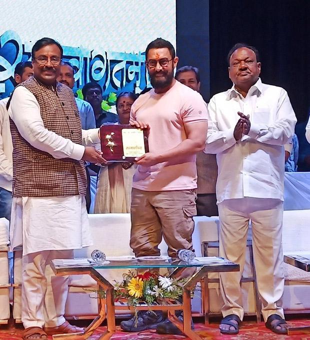 Aamir Khan launches the Mission Shakti sports initiative