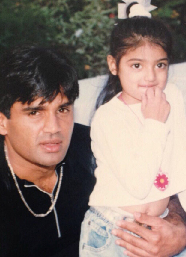 Athiya Shetty wishes her dad Suniel Shetty for his birthday with this throwback image