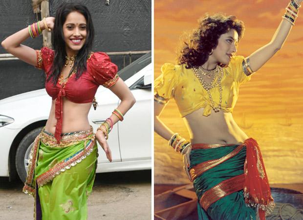 Dream Girl: Nushrat Bharucha's Look In 'dhagala Lagli Kala' Was Inspired By Madhuri Dixit