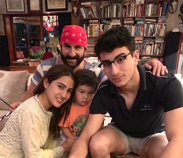 Happy Birthday Saif Ali Khan: Sara Ali Khan shares a special wish and a photo with her brothers Ibrahim & Taimur
