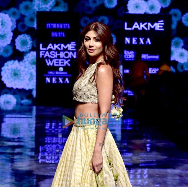 Lakme Fashion Week 2019 Malaika Arora, Kangana Ranaut and Shilpa Shetty bring festive glamour and timeless elegance to the ramp