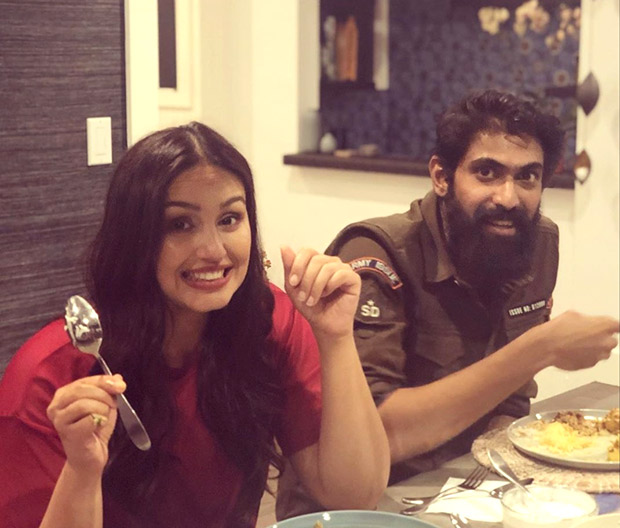 New Buddies In Town! Huma Qureshi And Rana Daggubati Enjoy Indian Food In California