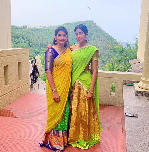On Sridevi's birth anniversary, Janhvi Kapoor visits Tirumala Templeto seek blessings