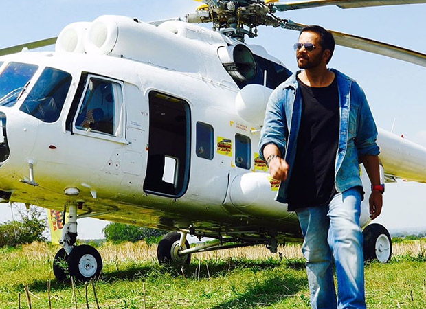 Rohit Shetty receives a certificate from the Indian Embassy of Bulgaria for helping the country boost its tourism