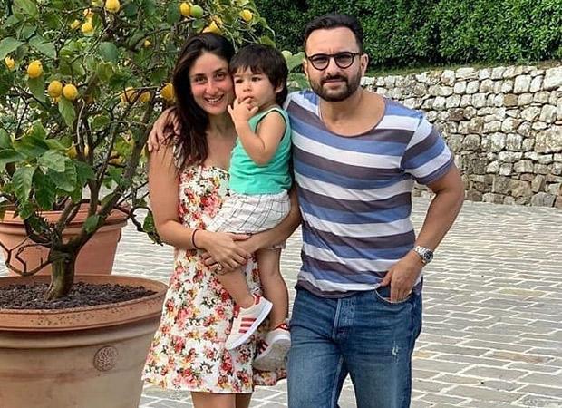 Saif Ali Khan and Kareena Kapoor record short clips of son Taimur Ali Khan