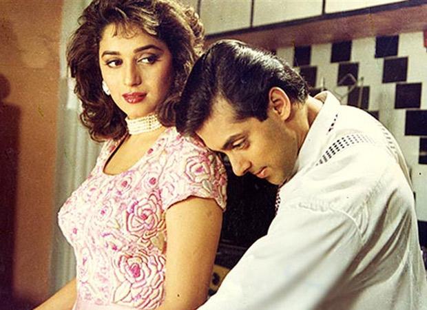 Salman Khan and Madhuri Dixit recreate 'Pehla Pehla Pyaar' on 25th anniversary of Hum Aapke Hain Koun