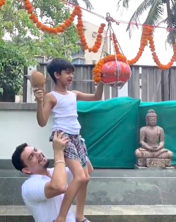 Shilpa Shetty Celebrates Janmashtami; Shares Video Of Son Breaking Dahi Handi