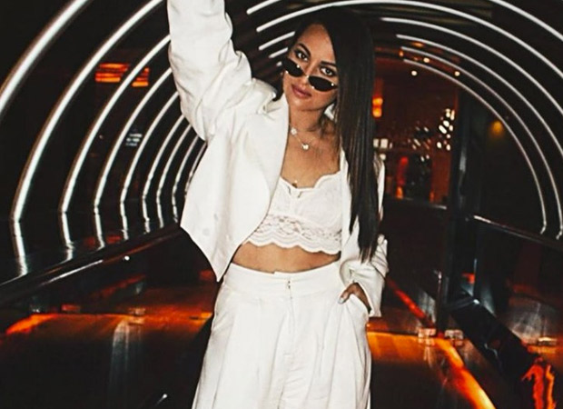 Sonakshi Sinha looks like a vision in white in a pantsuit by Ayamuse!