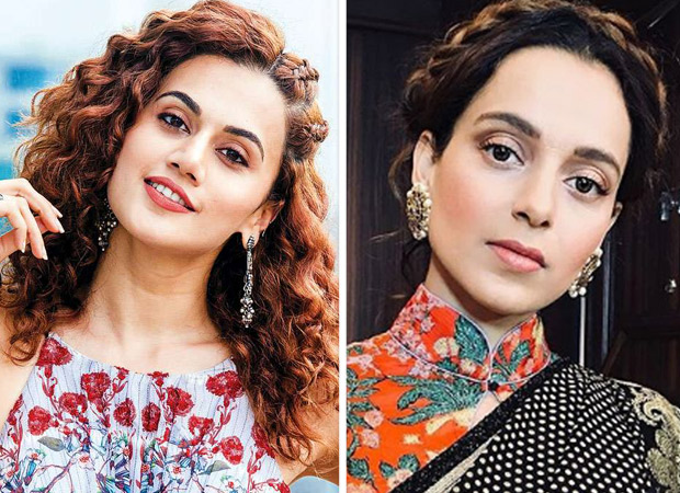Taapsee Pannu names Kangana Ranaut as an inspiring female icon of Bollywood
