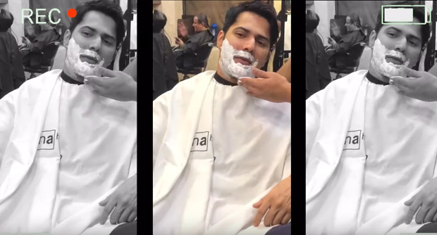 This video of Varun Dhawan transforming into Raju for Coolie No 1 is hilarious
