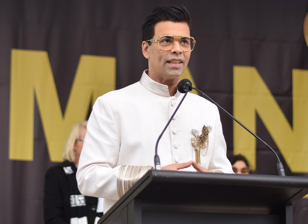 VIDEO Karan Johar is filled with pride as he hoists the Indian flag in Melbourne